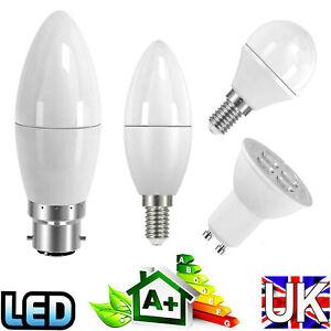 Energy Saving LED Light Bulbs Dimmable SES E14 Small Edison Screw BC B22 Bayonet