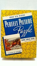 1940-1950's Perfect Picture Puzzle 375 Pieces No 193 Glories Of Autumn