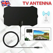 Indoor Digital TV Antenna HDTV HD Aerial Freeview Signal Amplified 1000Miles UK