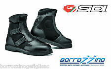 STIVALI moto FAST RAIN SIDI technomicro NERO - FODERATO RAINTEX TG. 40