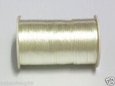 beige 5yd Satin Rattail Cord 2mm nylon jewelry macrame kumihimo beads DIY