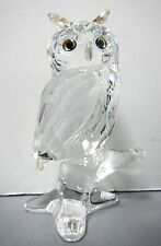 OWL ON BRANCH BIG CRYSTAL 2014 SWAROVSKI   5043988