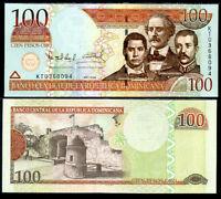 DOMINICAN REPUBLIC 100 PESOS 2004 P 171 UNC