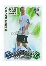 Match Attax Premier League 09/10 - 375 - KEVIN DAVIES - Man of the Match -