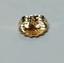 14Kt 14K Yellow 9.4MM Earring Back Large Over-sized