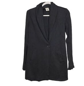 Cabi Style 2180 Size XS Harbor Jacket One Button Long Blazer With Pockets