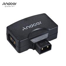 Andoer D-Tap to 5V USB Adapter Connector for V-Mount Camcorder Camera S4T6