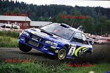 Richard Burns SUBARU IMPREZA WRC99 RALLY FINLANDIA fotografia 1999
