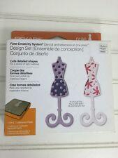 Fiskars Fuse Creativity Design Set 0196 DRESSFORM Die Cut & Letterpress