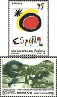Spanien 2967,2974 (kompl.Ausg.) postfrisch 1990 Sondermarken