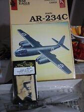 AR 234C ARADO 1/48 SCALE HOBBY CRAFT MODEL+ RESIN COCKPIT TRUE DETAILS SET