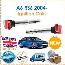 For Audi A6 RS6 2004- 2.4 2.8 3.0 3.2 4.2 2 Pencil Ignition Spark Plug Coils New