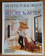 Architectural Digest Magazine November 2012 - Before & After - Nate Berkus