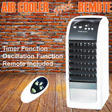 Graded Portable Air Cooler 3 Speed Humidifier Cooling Room Refresh Remote Timer