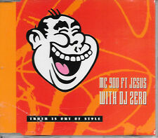 "MC 900 ft JESUS with DJ ZERO - Truth is out of style 3""Inch CD SINGLE 3TR 1990"