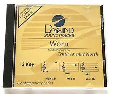 Daywind - Tenth Avenue North - Worn - accompaniment track christian cd - new