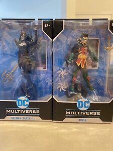 DC Multiverse ROBIN DC REBIRTH - Batman Earth Ii . Dark Night McFarlane Toys