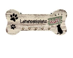 Hundegarderobe für Leinen, Geschirr und Halsbänder - Leinenparkplatz - 01