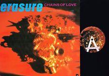 "ERASURE Chains Of Love FOGHORN MIX 12"" Vinyl 45rpm 12MUTE83 UK 1988 1ST @exclt"