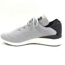 Adidas Mens Busenitz Pure Boost Primeknit Gray Black White F37782 Ultra Sz 11.5