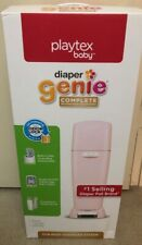 Playtex Diaper Genie Complete Diaper Pail with Odor Lock Technology Pink New