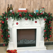 2.7m /9ft Christmas Garland XMAS Tree Decorations Imperial Pine Fireplace Wreath