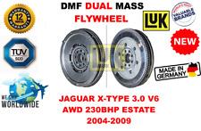 FOR JAGUAR X-TYPE 3.0 V6 AWD 230BHP ESTATE 2004-2009 NEW DUAL MASS DMF FLYWHEEL