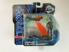 "JARVIS & BLACK GUARD 3"" figures TRON LEGACY Spin Master DISNEY 2010 Target Excl"