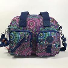 KIPLING DEFEA Handbag Travel Shoulder CrossBody Bag Sunshine Happy Purple