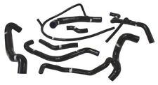 MK2 GOLF Samco Hose Kit, Coolant, Mk3 Golf VR6 7 Hose, Black - WC121TCS109CBLK
