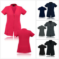 Work hairdressing Spa Nail Salon New Beauty Therapist Healthcare Tunic Uniform
