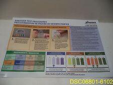 "Qty = 24: Array Wall Chart ""2 Sink Washing"" Eng/Spanish 11""x17"" W201-31 01-07-01"