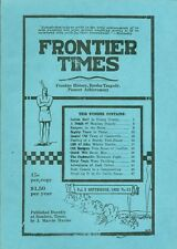1925 Frontier Times Monthly Magazine (1974 reprint): Indian Raid Young County