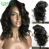 Deep Body Wave Full Lace Wigs Virgin Human Hair Lace Front Wigs With Baby Hair