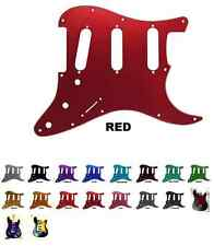Aluminum Metal Fender Stratocaster Pickguards - 20 colors!! Standard Or HSS