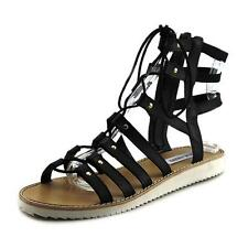 Steve Madden Leather Solid Sandals & Flip Flops for Women