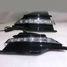 2pcs White LED Daytime Running Light DRL Fog Lamp for Ford Escape Kuga 2013-2016