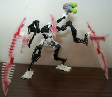 LEGO BIONICLE MISTIKA 8694 KRIKKA MAKUTA CUSTOM W LEGS NO MANUAL