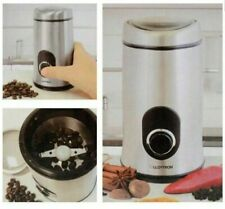 Kitchen Perfected Brushed Steel Coffee Bean & Spice Herb Grinder E5602SS