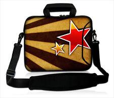 """15 """" -15.6"""" Funda Para Laptop Con Manija Correa llevar Funda Bolsa 4 todas las laptops * Estrella *"""