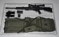 1/6 Modern Special Forces SNIPER Rifle / Drag Bag / Harness / Binocs Loose