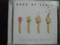 RUSH  OF  FOOLS  -  WE  ONCE  WERE ,    CD  2011,    ROCK ,    mit Autogrammen