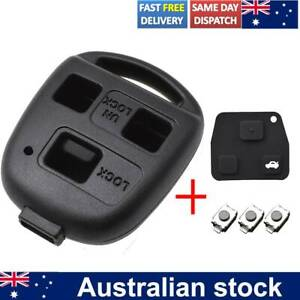 3 Buttons For LEXUS IS200 GS300 RX300 LS400 Remote Key Pad Switch Fob Shell Case