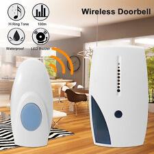 Portable Calling Machine Wireless Door Bell 36 CHIME Home Cordless 100M Range