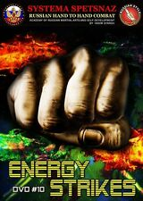 RUSSIAN SYSTEMA SPETSNAZ DVD #10 - Energy Strike. Russian Martial Art in English