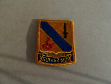 MILITARY PATCH US ARMY COLORED FOR SHOULDER SEW ON CLOTH DI SUIVEZ MOI