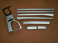 Dekorleisten Interieurleisten Struktur Folien Alu gebürstet passend für BMW E39