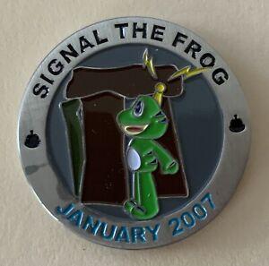 January 2007 Signal the Frog United Kingdom Geocoin