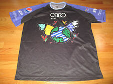 CARL LEWIS Challenge Audi Cycling (3XL) Jersey OLYMPIC GOLD