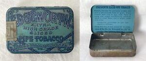 Vintage Rare Empty Larus Bro Richmond USA EDGEWORTH SLICED PIPE TOBACCO Tin #H6